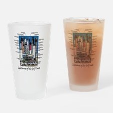 Gulf Coast notes Drinking Glass