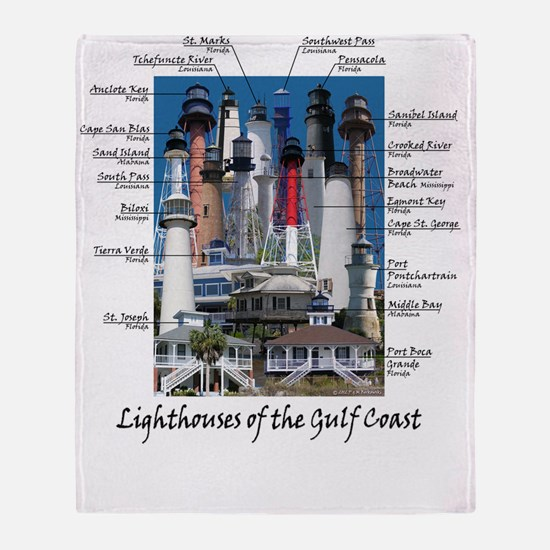 Gulf Coast 9X12 Throw Blanket