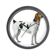 American Foxhound Wall Clock