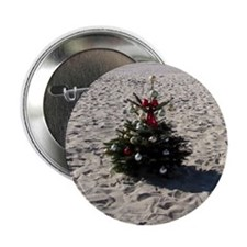 "mission bay beach xmas tree 2011 2.25"" Button"