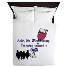 Napa Valley wine tasting Queen Duvet
