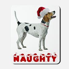 Naughty American Foxhound Mousepad