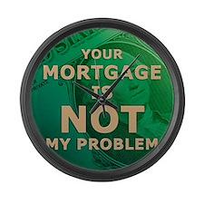 jan12_mortgage Large Wall Clock