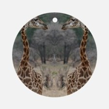 thonggiraffe Round Ornament