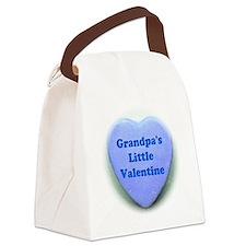 Grandpas valentine Canvas Lunch Bag