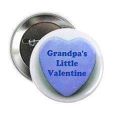 """Grandpas valentine 2.25"""" Button"""
