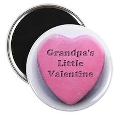 Grandpas valentine girl Magnet