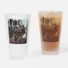 Girl Scout Camp Drinking Glass