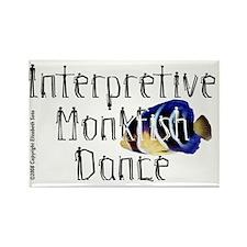 MonkfishDance Rectangle Magnet