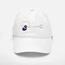 guitar-popline-T Baseball Baseball Cap