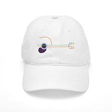 guitar-popline-T Baseball Cap