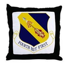 4th FW - Fourth But First Throw Pillow