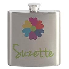 Suzette-Heart-Flower Flask