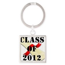 class of 2012 diploma 2 Square Keychain