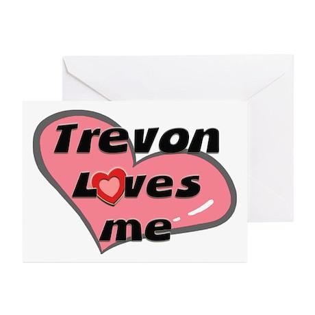trevon loves me Greeting Cards (Pk of 10)