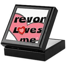 trevon loves me Keepsake Box