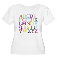 Alphabet Lett T-Shirt