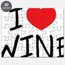 i love wine Puzzle