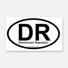 dr_dominicanrepublic Rectangle Car Magnet