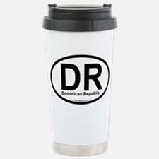 dr_dominicanrepublic Stainless Steel Travel Mug