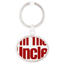 im the uncle Oval Keychain