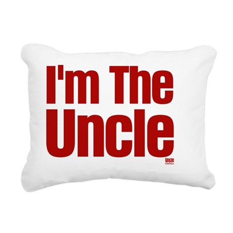im the uncle Rectangular Canvas Pillow