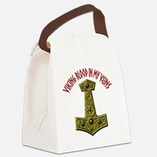 Thors Hammer X-VB Red-A Canvas Lunch Bag