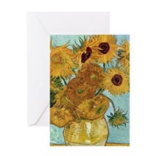 iphone 2b_Van Gogh Sunflowers Greeting Card