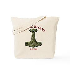 Thors Hammer V-VB Red-B Tote Bag