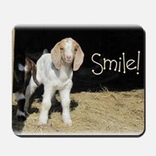 Baby goat Smile! Mousepad