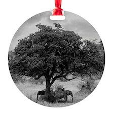 Elephants Ornament