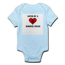 Loved By A Border Collie Body Suit