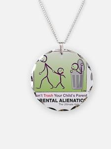 Parental Alienation T-shirt Necklace