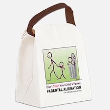 Parental Alienation T-shirt Canvas Lunch Bag