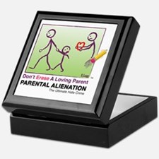 Parental Alienation T-shirt Keepsake Box