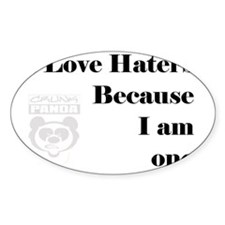 haters Decal