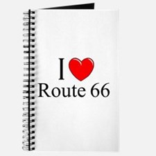 """I Love Route 66"" Journal"