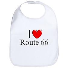 """""""I Love Route 66"""" Bib"""