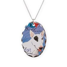 bull-iPad Necklace Oval Charm