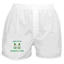 Grandma O' Twins Boxer Shorts