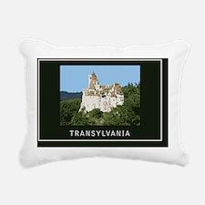 Transylvania1Postcard1 Rectangular Canvas Pillow