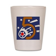 5th_usaaf - cropped Shot Glass