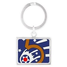 5th_usaaf - cropped Landscape Keychain
