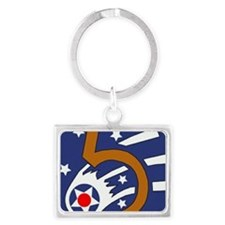 5th_usaaf - cropped-10 Landscape Keychain
