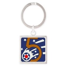 5th_usaaf - cropped-10 Square Keychain