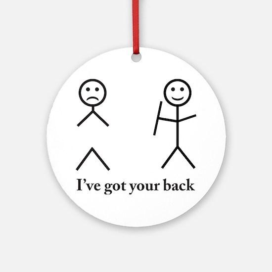 o7 Round Ornament