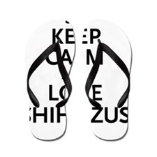 keepcalm3 Flip Flops