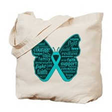 Scleroderma Butterfly Tote Bag