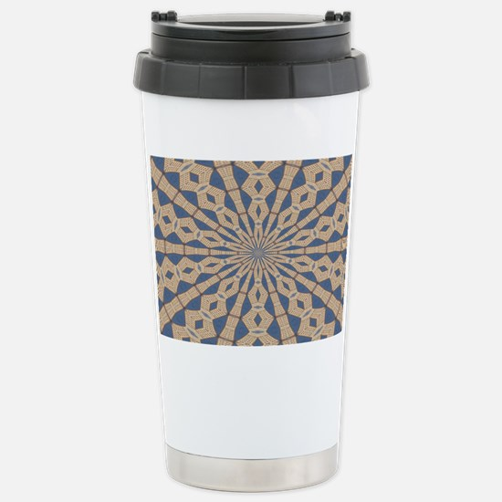 Spring Point Light Stainless Steel Travel Mug