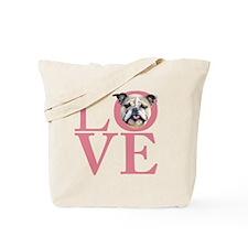 love3 Tote Bag